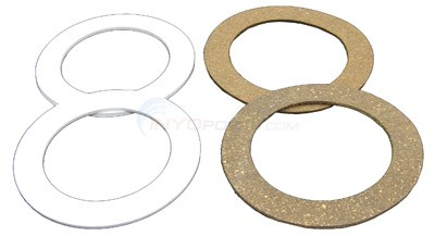 Inlet Gaskets, Set Of 2 Cork And 2 Rubber