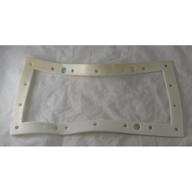 Champlain Plastics Wide Mouth Skimmer Double Faceplate Gasket - 4090-45