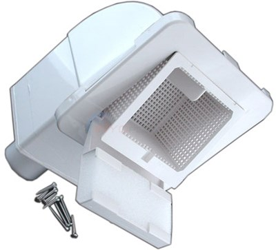 SPA SKIMMER, FRONT ACCESS; WHITE