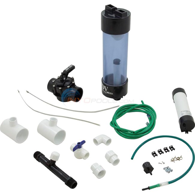 Del Ozone Mixing Degas Vessel kit for Eclipse 1,2 and 4 - Single Speed Pumps - MDV-10