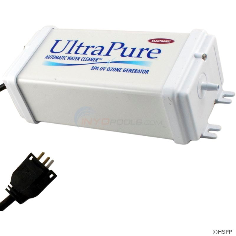 EUV3 120/240V Ultra Pure Spa Ozonator, HSS Retro-fit, 120V Mini J&J