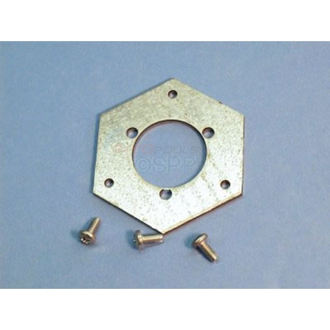 "Adapter, Vulcan, Hex Plate 1/8"" - 45-3001"