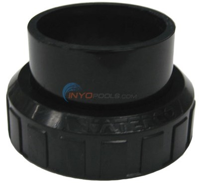 Blk Half Union & O-ring (634024)