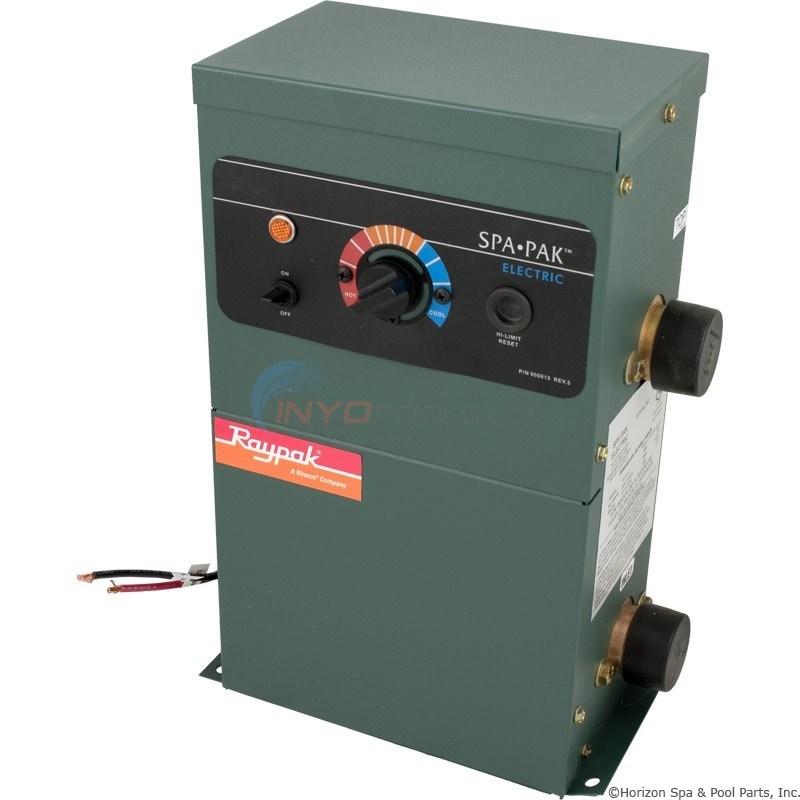 Raypak Spapak Electric Spa Heater 5 5 Kw 001642 Inyopools Com