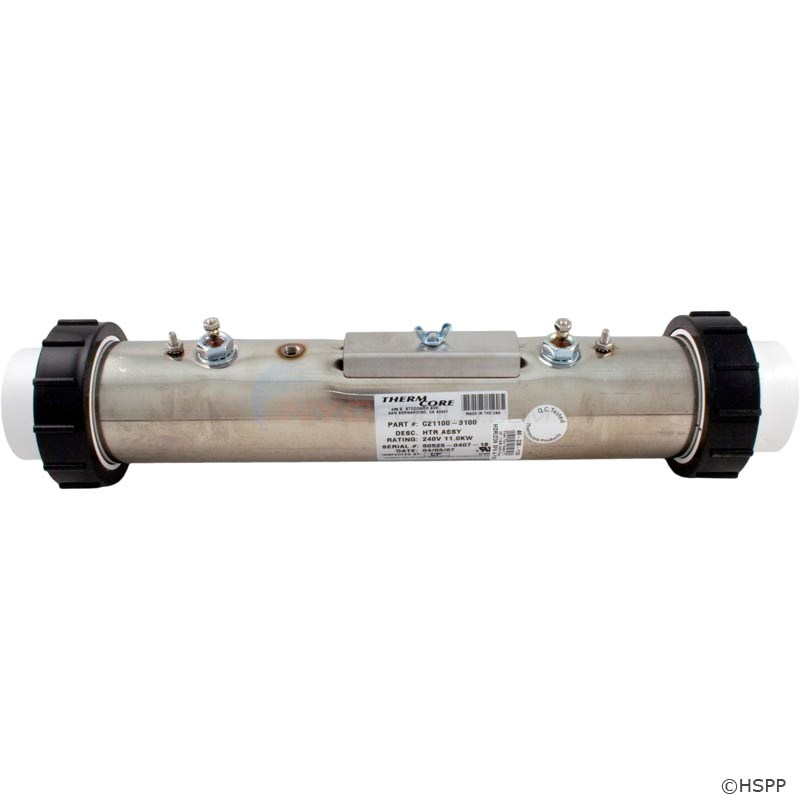 "Heater Assembly, 11KW, Superflow,2.5"" - C21100-3100"