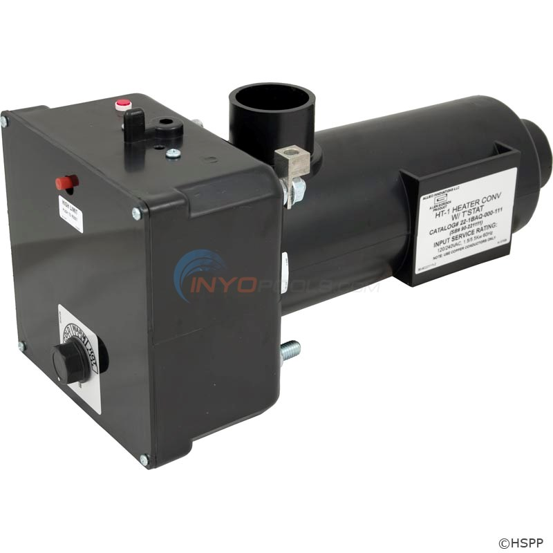 spa parts plus heater assembly ht 1 brett w therm 22 0135 90 rh inyopools com Hydro Quip Wiring-Diagram Hot Tub Wiring Diagram