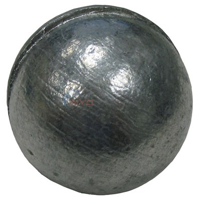 ZINC ELECTRO BALL FITS INSIDE THE SKIMMER BASKET