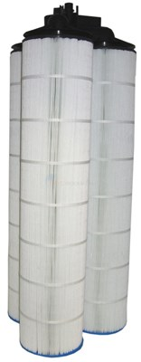 Jacuzzi Inc. Jacuzzi Triclops Cartridge 550 Sq Ft Microban Cartridge Kit w/ Manifold - 42370220K