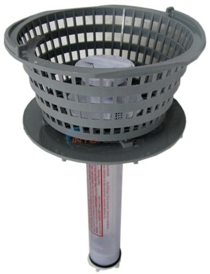 LILY CHEM DISPENSER With BASKET ASSY DARK GRAY