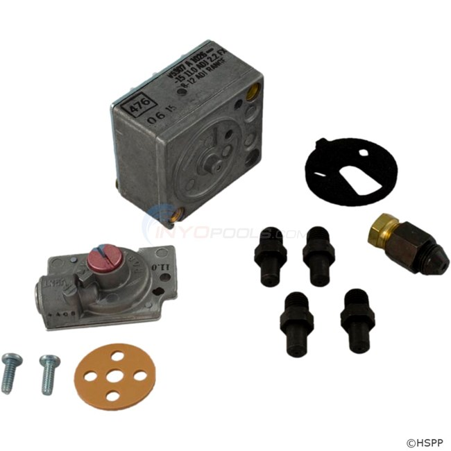 Raypak Conversion Kit, Nat To Lp, For 055b (004696b)