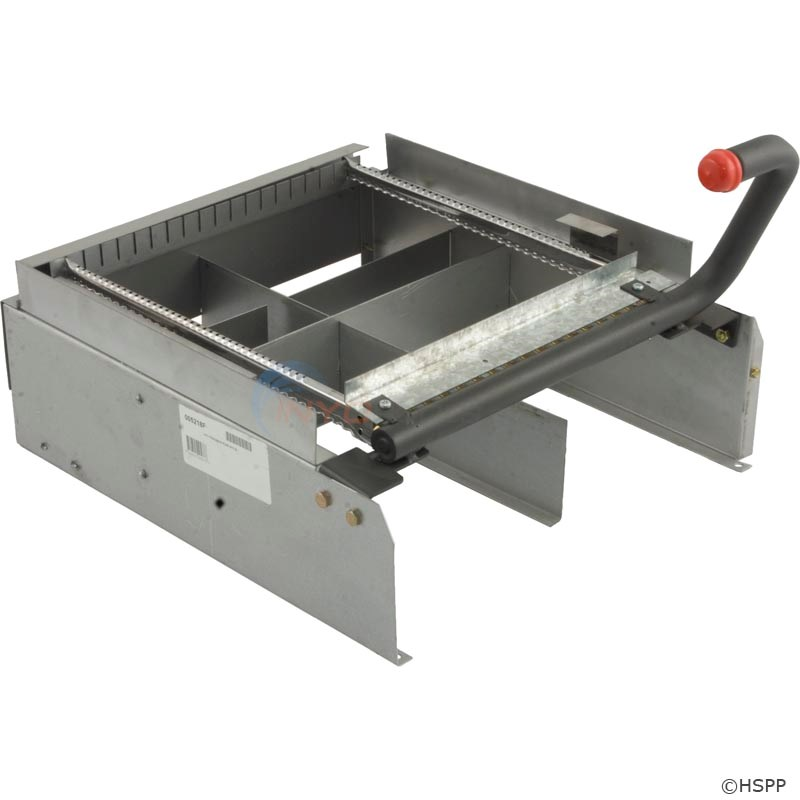 BURNER TRAY WITH BURNERS R206A