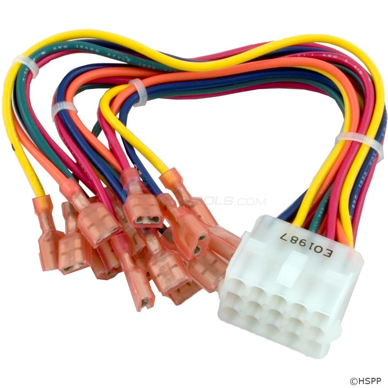 WIRE HARNESS, 15 PIN CONNECTOR