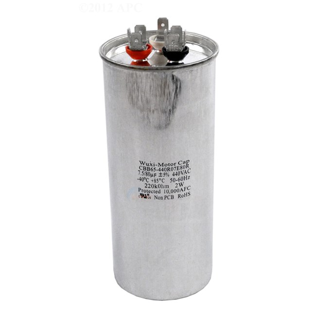 Pentair Capacitor (MODEL 70, 90, 110, 120, 120HC, 140, 140HC ONLY) - 473731
