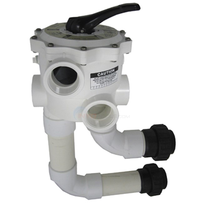 "Waterway Multi-Port Valve w/ Union Connections 2"" FPT - WVD001"