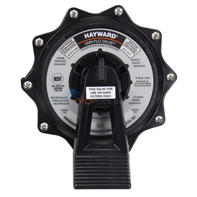 Hayward Valve Assembly, 2in (spx0715x32)