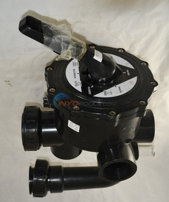 Valve Complete w/Piping, Side Mount 2""