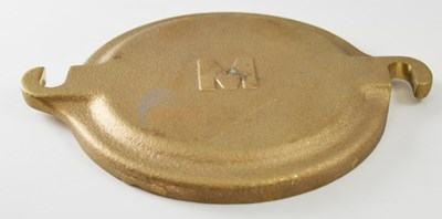 "COVER, POT 5"" BRASS (31-482)"
