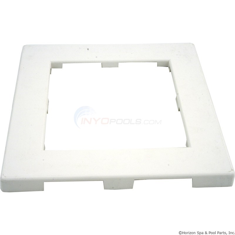 Waterway Trim Plate - ABS - White - 519-3090