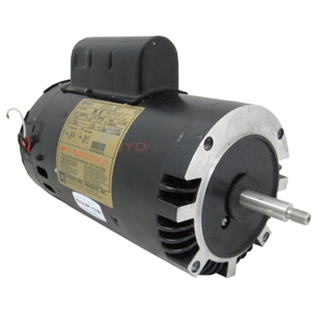 Hayward motor 2 1 2 hp 2 speed up rated spx1620z2mns for Hayward 1 1 2 hp pool pump motor