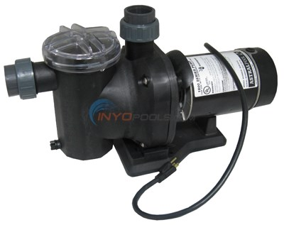 COMPLETE POOL PUMP AG, SENA 1800, 1 HP, 115V, 1-SPEED, 3' TWIST LOCK CORD (SEN1810)