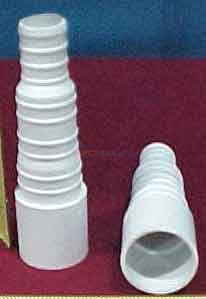 ADAPTOR, DISCHARGE RIBBED
