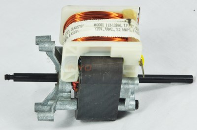 LTD QTY MOTOR, 1/25HP
