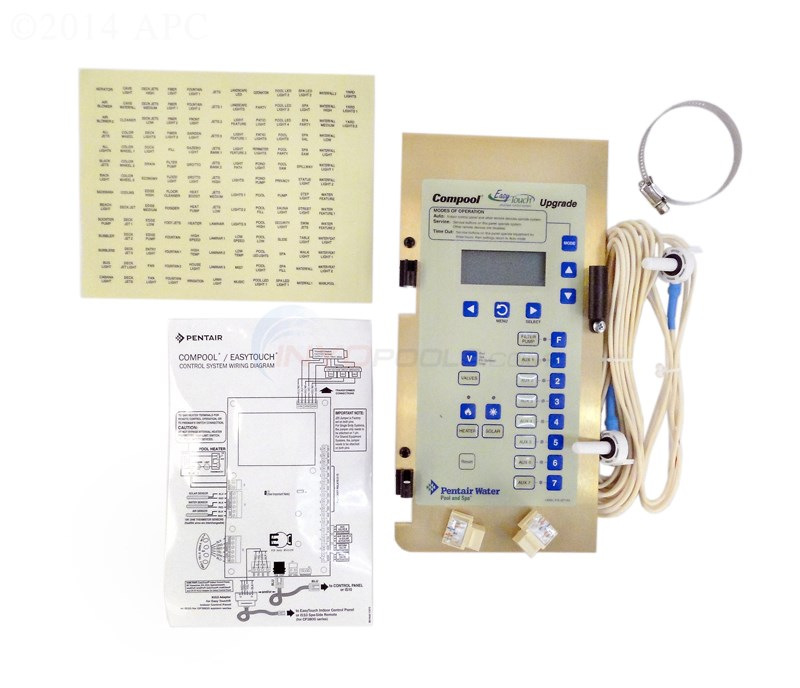 Pentair Compool to EasyTouch Upgrade Kit without Transformer - 521107