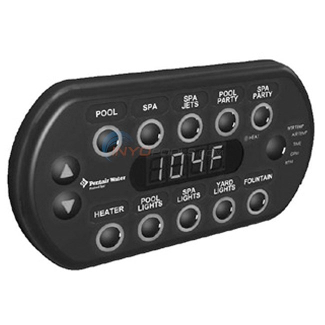 Pentair SpaCommand Remote 150 ft. - Black - 521176