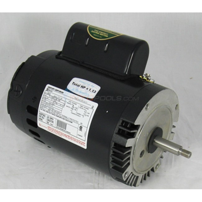 A.O. Smith Century 3/4 HP Round Flange 56J Full Rate EE Motor - B638