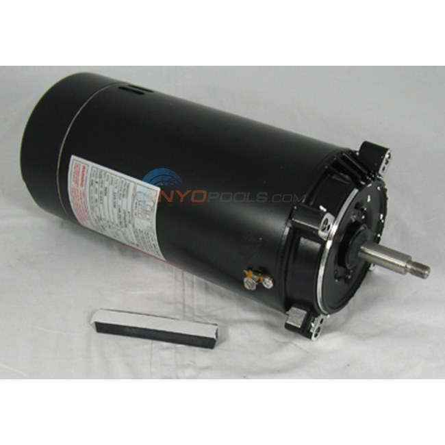 A.O. Smith 1 HP Round Flange 56J Full Rate Motor - ST1102