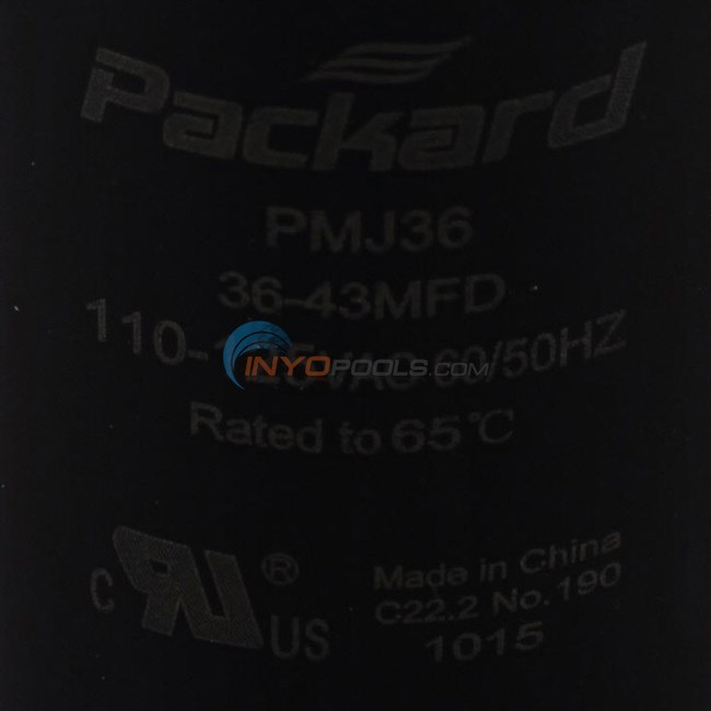 U.S. Seal Manufacturing CAPACITOR, START 36-43 MFD (BC-36)