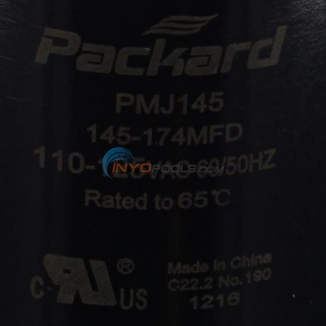 U.S. Seal Manufacturing CAPACITOR, START 145-174 MFD (BC-145)