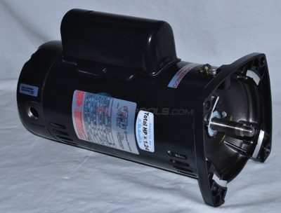 3/4 HP Square Flange Dual Speed Full Rate Motor 115V