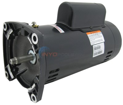 A.O. Smith 2 HP Square Flange 2-Speed Up Rate Motor - UQS1202R