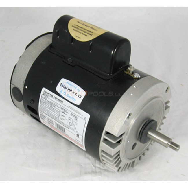 A.O. Smith Century 3/4 HP Round Flange 56J Dual Speed Full Rate Motor - B2973
