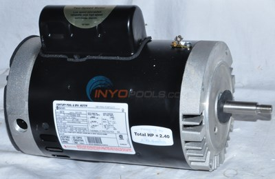A.O. Smith 2 H.P Round Flange Dual Speed Full Rate Motor (B979) - STS1202