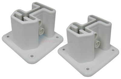 Champlain Plastics Ladder Deck Flange, Set Of 2 (bul-41-1)