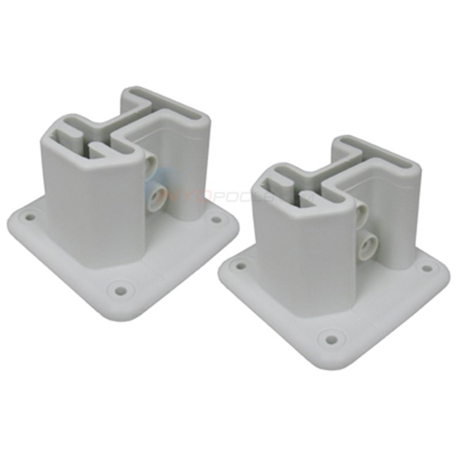Champlain Plastics Ladder Deck Flange, Set Of 2 (bul-41-1) OUT OF STOCK 2019 POOL SEASON