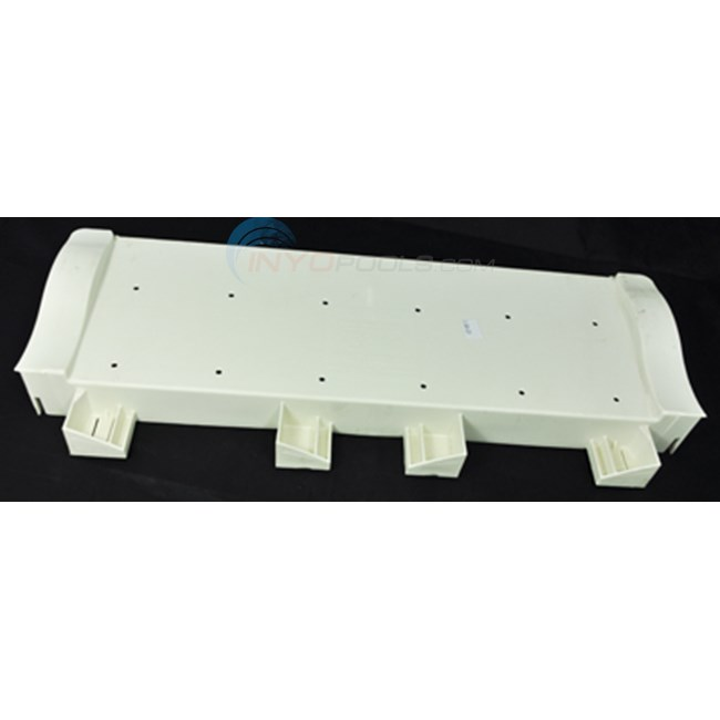 "Champlain Plastics 10"" Protective Step With Slot At Each End (bul-101-10)"