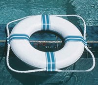"Lifestyle Foam Ring Buoy, 24""*LTS/OBS* - 55554"