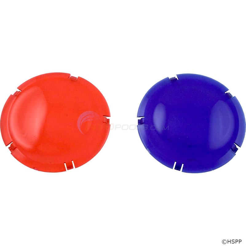 LENS COVER COLOR  KIT (RED & BLUE)