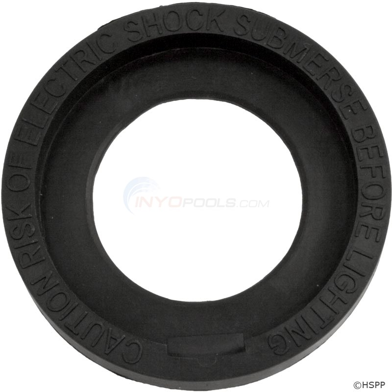 Face Ring, UL Warning, Black PAL-2000 (39-P100-61)