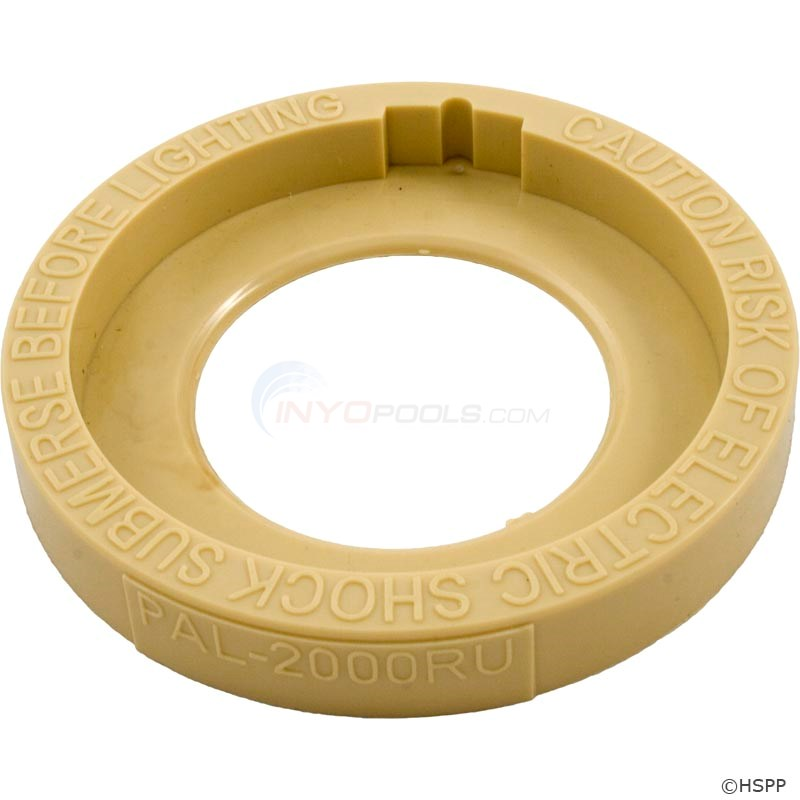 Face Ring, UL Warning, TAN PAL-2000 (39-P100-6T)