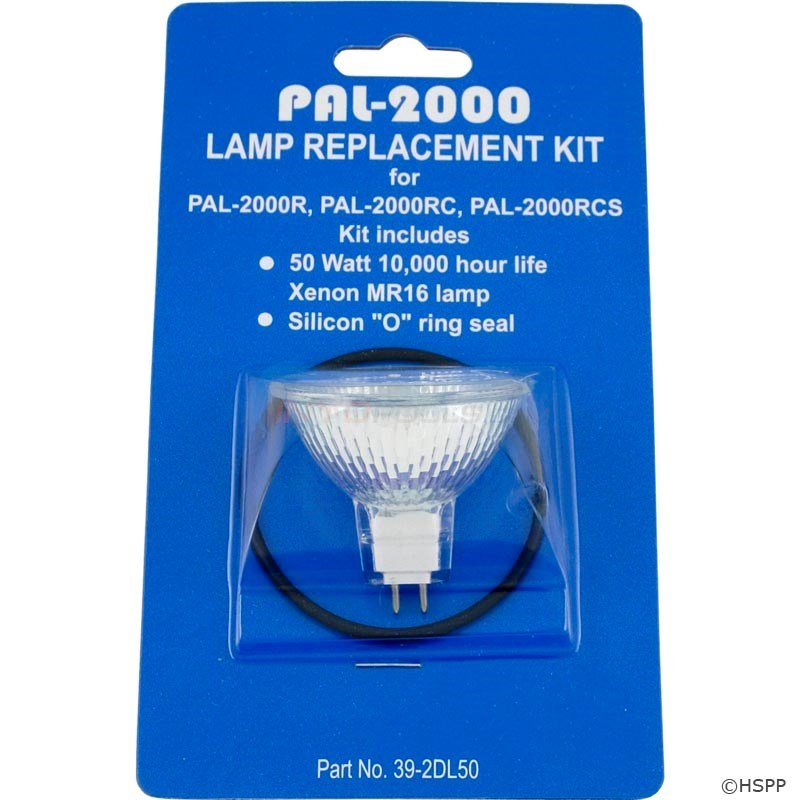 Replacement Xenon Bulb Kit,50W,12V (39-2DL50)