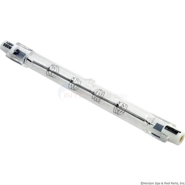 Light Bulb Halogen T3 Double Ended 500w 120v Q500t3c