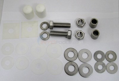 Interfab Complete Techni-spring To Base Mounting Kit, Stainless (ts-m)