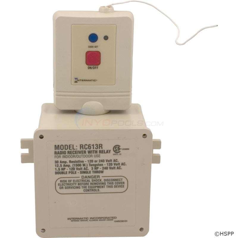 Intermatic Heavy Duty Receiver Module (DS) - RC613R