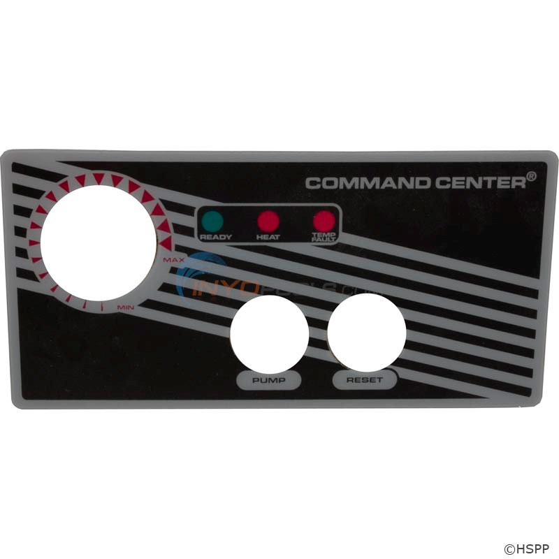 CC Command Center Faceplate (HRC)