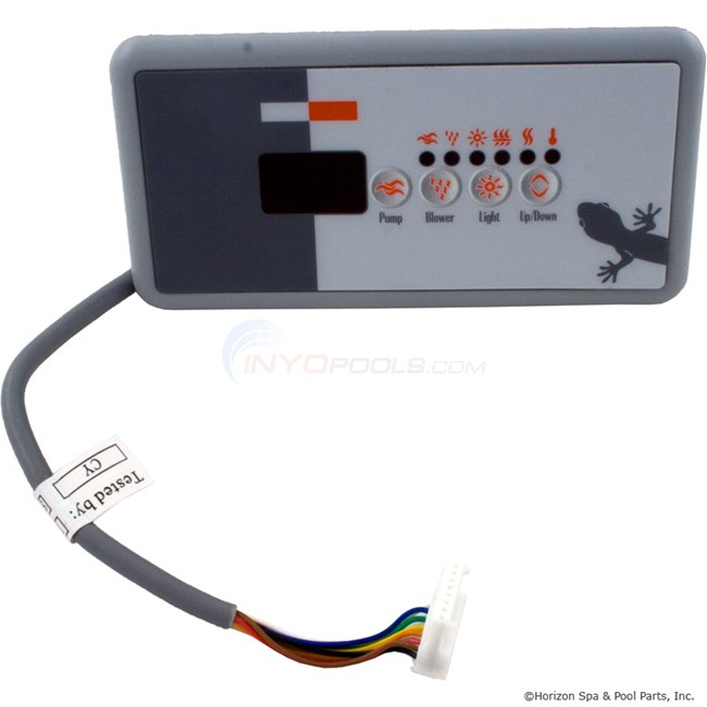 Panel,TSC18/K-18 Sm Rec, 4-Button, LED, SSPA, P1+Blwr (BDLTSC18GE3) Replaced by 0202-007134