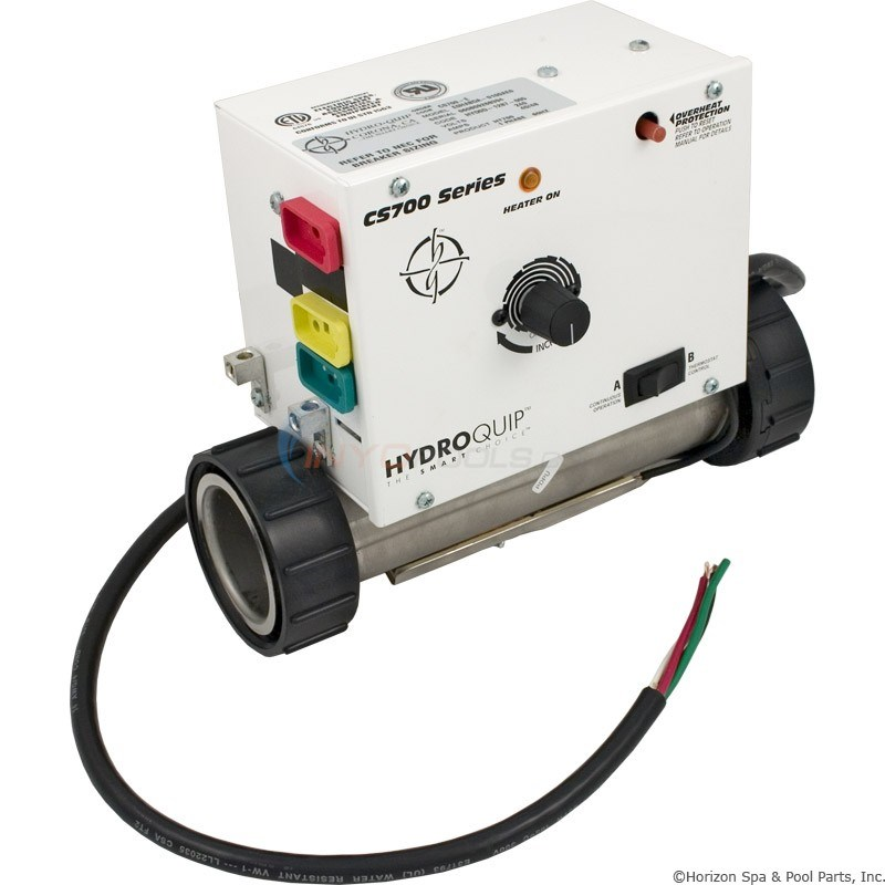 CS700-E Inline,2.0KW 240V W/3` Power Cord(unswitched blower) (CS700-E)